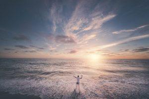 Selbstbewustsein Kurs - Mann am Meer