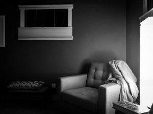 Was will ich wirklich - Leeres Zimmer deprimierend