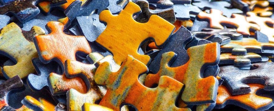 Ängste überwinden - Puzzlestücke