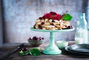 Kompromisse eingehen - Pancakes mit Sahen und Beeren
