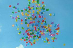 Streit wegen Kleinigkeiten - Luftballons