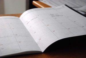 Ziele setzen - Kalender