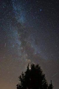 Ziele setzen - Milchstraße