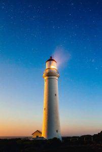 Ziele setzen - Leuchtturm