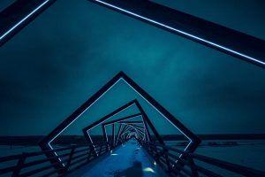 Wer bin ich wirklich - High Trestle Trail Bridge, unheimlich